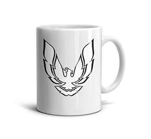 Sdjufiow Pontiac-Cool-Firebird-Logo-White Mug Cute Tea Mugs Teacup