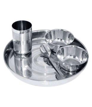 King International -Stainless steel dinner set of 4 pcs