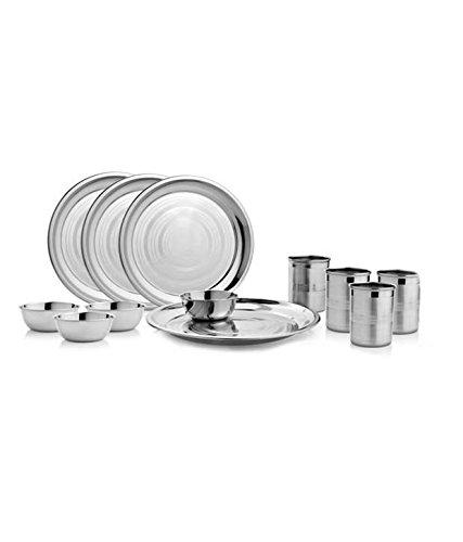 Stainless steel - Dinner set of 32 Pcs