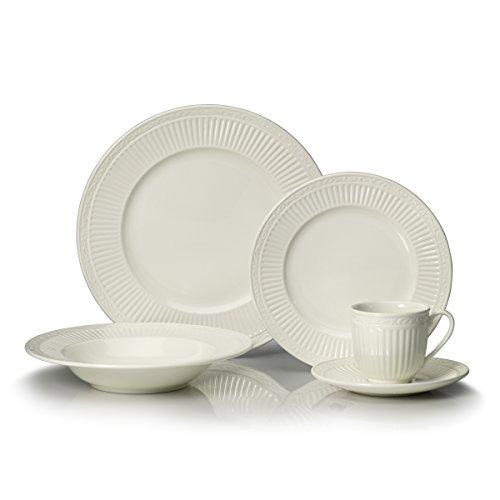 Mikasa Italian Countryside 40-Piece Dinnerware Set Service for 8
