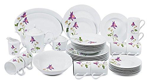 Success Imports Lilac 40 Piece Dinnerware Set