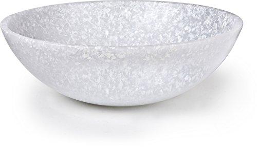 Dexas Jelli Plastic Salad Bowl 13 Inch Diameter Granite Pattern