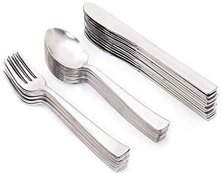 Stainless steel Cutlery set 36 Pieces 12 dessert spoons12 dessert forks12 butter knives