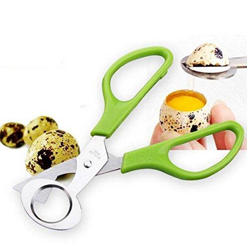 Egg Tools Quail Egg Shells Scissor Cracker Opener Stainless Steel Cigar Cutter Scissor Blade Tool Kitchen Accessories