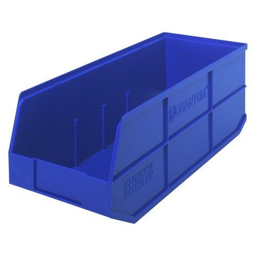 20-12 L x 8-14 W x 7 H Blue Stackable Shelf Bin 1 Bin