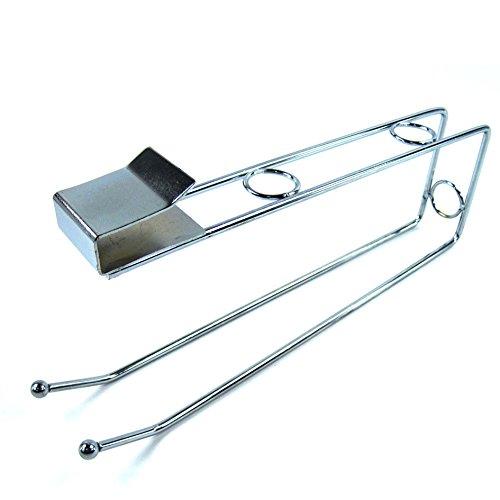 Stainless Multi Uses Sink Cabinet Kitchen Towel Holder Kitchen Paper Hanger