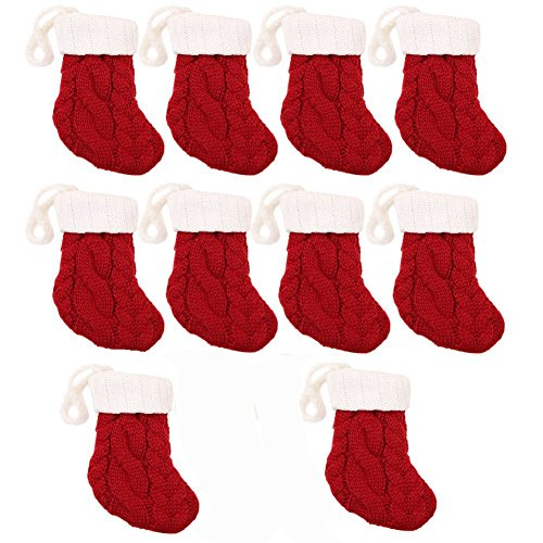 1012Pcs Christmas Silverware Holder Xmas Cutlery Dinner Table Decoration Santa Claus Snowflake Flatware Pockets Stocking