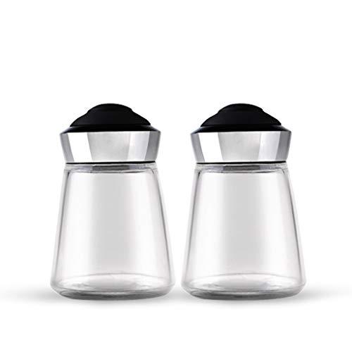 SGMYMX Spice jar Spice jars Glass storage jars Spice jars Small sealed food storage containers Spice storage boxes Salt pot
