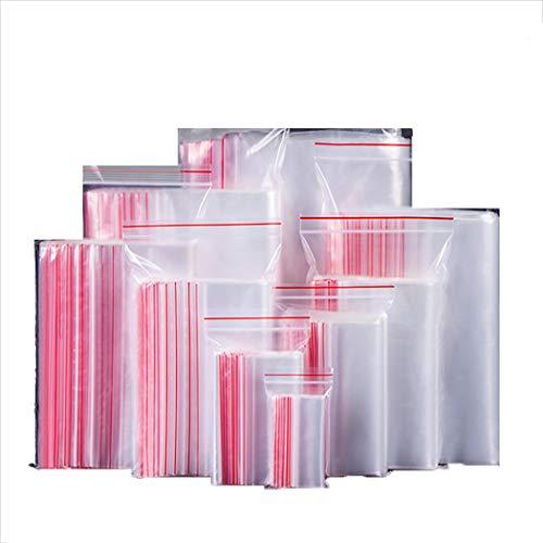 XIAYU Durable Practical Transparent Ziplock Sealed Food Storage Bag Decorating Pastry Bags