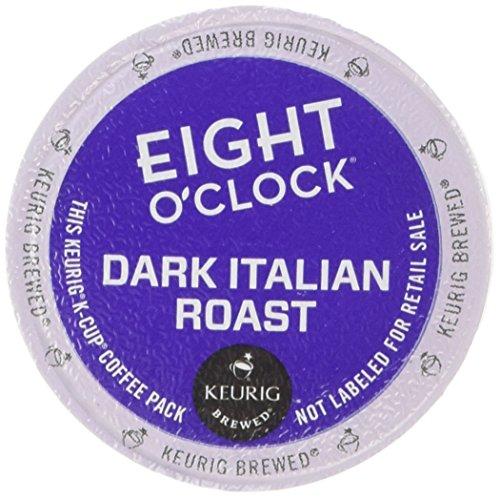 Keurig Eight OClock Coffee Dark Italian Roast K-Cup packs 24 Count