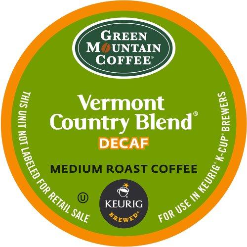 Keurig Green Mountain Coffee Vermont Country BlendmelangeDecaf K-Cup packs 50 Count