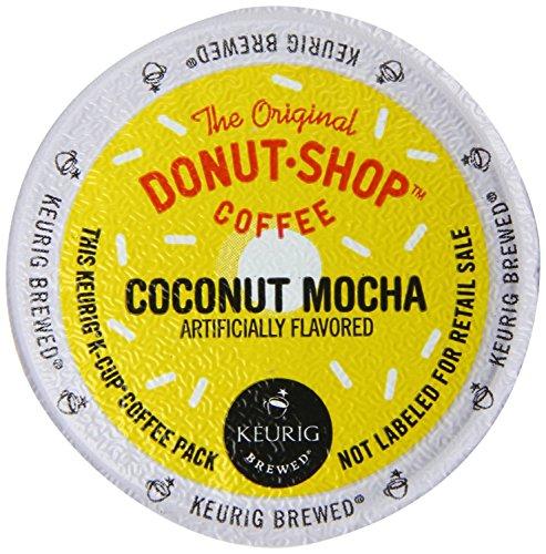 Keurig The Original Donut Shop Coconut Mocha K-Cup Packs 30 Count