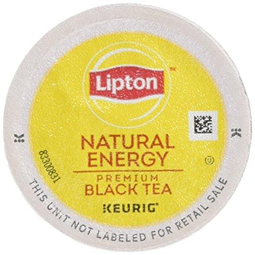 Lipton K-Cup Portion Pack for Keurig Brewers Natural Energy Premium Black Tea 24 count