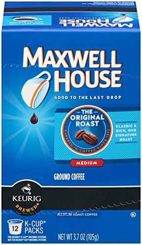 Maxwell House Original Roast K-Cup Packs 12 count Pack of 6