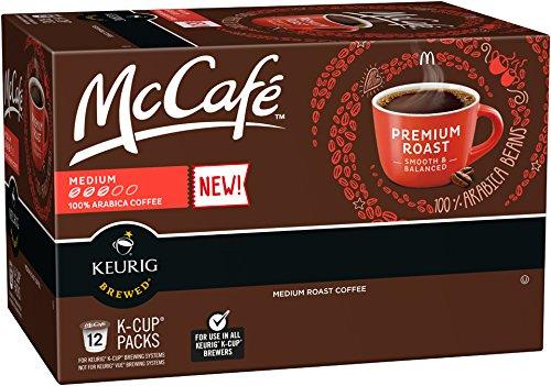 McCafe Premium Roast K-Cup Packs - 12 count Pack of 6