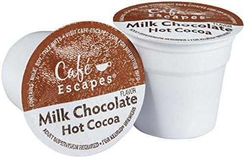 Cafe Escapes Hot Cocoa K-Cups-635 oz 12 ct