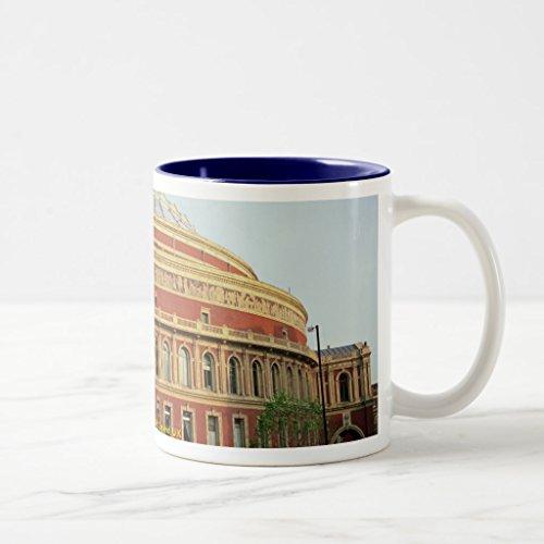 Zazzle Royal Albert Hall London England Uk Coffee Mug Navy Blue Two-Tone Mug 11 oz