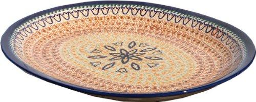 Polish Pottery Large Serving Platter Zaklady Ceramiczne Boleslawiec 1007-117art