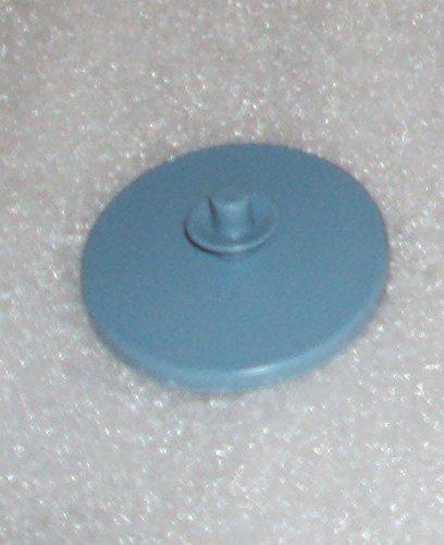 Vintage Tupperware Gadget Push Button Pitcher Seal Refrigerator Magnet Blue