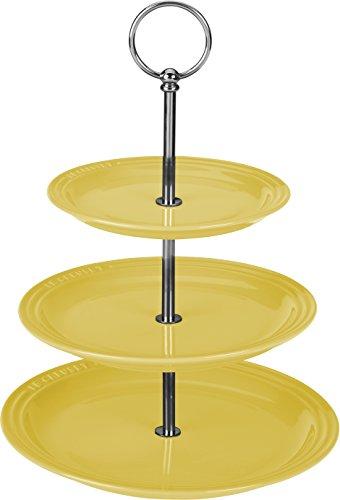 Le Creuset Stoneware 3 Tiered Server Soleil