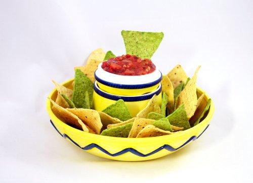 Sombrero Chip Dip Bowl