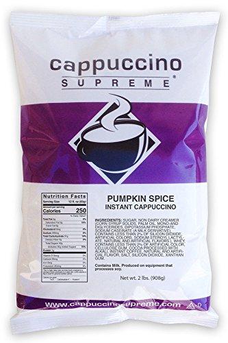 Pumpkin Spice Instant Cappuccino Mix