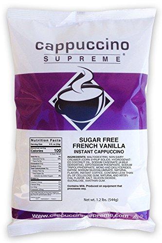 Sugar Free French Vanilla Instant Cappuccino Mix