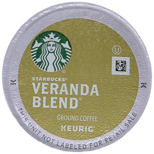 Starbucks Veranda Blend Blonde Light Roast Single Cup Coffee for Keurig Brewers 1 Box of 10 10 Total K-Cup pods