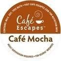 Cafe Escapes Cafe Mocha 48 K-Cups for Keurig Brewers