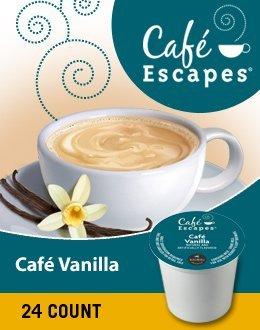 Cafe Escapes Cafe Vanilla K-Cups