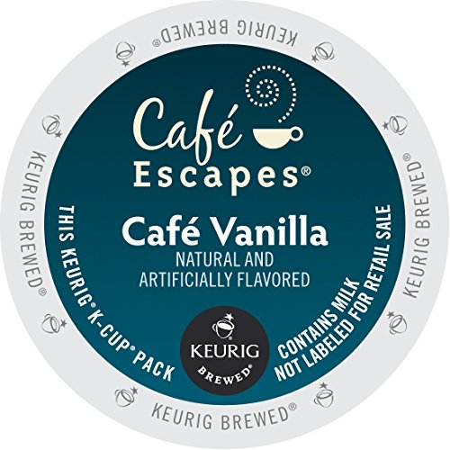 Keurig Cafe Escapes Cafe Vanilla Specialty 3-pk One Size