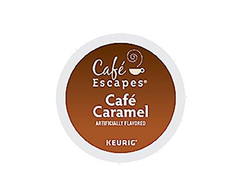 Keurig Hot Cafe Escapes Cafe Carmel 3 pods