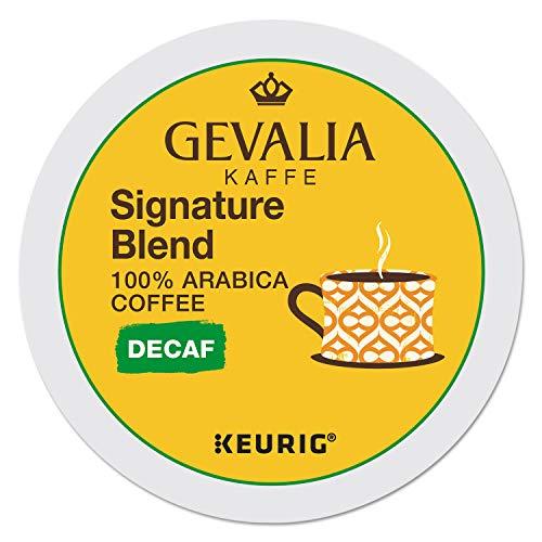 Gevalia Kaffee Signature Blend Coffee Keurig K-Cups Decaf 24 Count