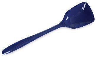 Gourmac Hutzler 11 Inch Melamine Flat-Front Spoon Cobalt Blue