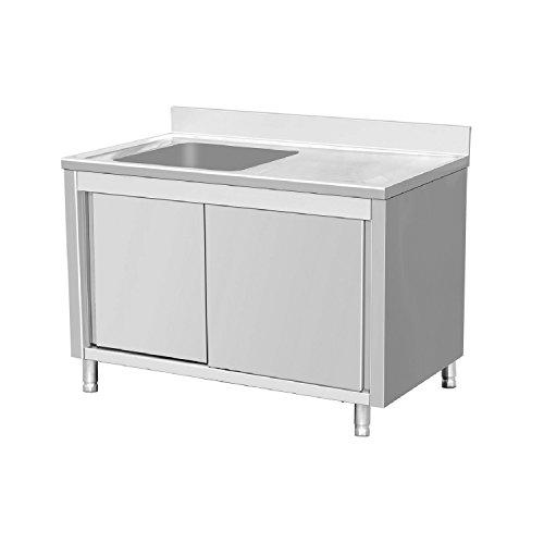 EQ Kitchen Line SSR146BL1 Commercial Sink 1 Bowl