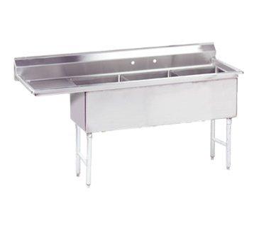Advance Tabco FC-3-1515-15L-X Fabricated NSF Sink