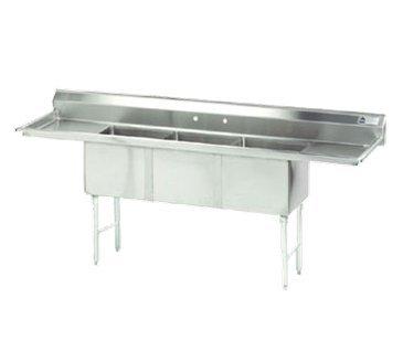 Advance Tabco FC-3-1824-18RL-X Fabricated NSF Sink