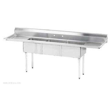 Advance Tabco FE-3-1014-15RL-X Lite Series Fabricated NSF Sink