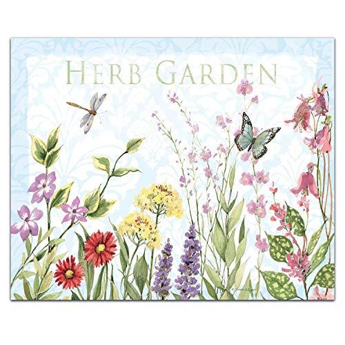 CounterArt Herb Garden Tempered Glass Counter SaverCutting Board