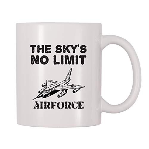 4 All Times The Skys No Limit Airforce Coffee Mug 11 oz