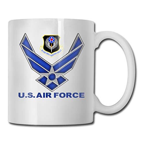Air Force Coffee Mug Gift For Kids Women Men Boys Girls White Ceramic Coffee Tea Mug Cup 11oz