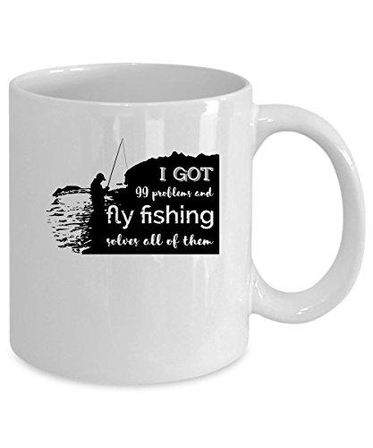 Fly Fishing Coffee Mug 15 oz Fly Fishing gift
