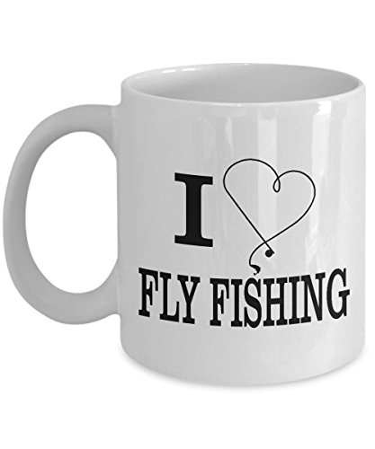 I Love Fly Fishing Coffee Mugs - Ultimate Ideal Quality Super Cool Gifts