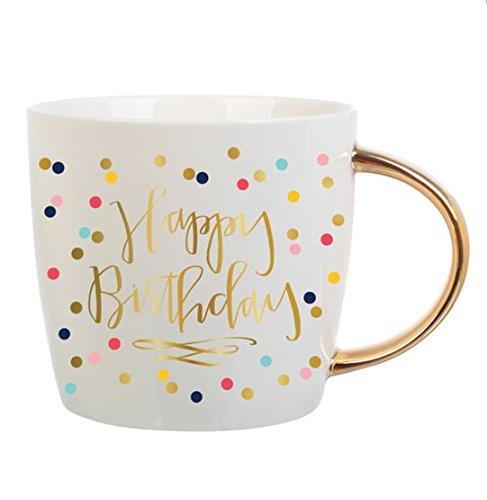 Slant Collections Womens Happy Birthday Coffee Mug Multi One Size