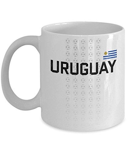 Uruguay Soccer Team Coffee Mug - 11oz White Ceramic Tea Cup World Football Cup Country Pride Novelty Birthday Holiday Christmas Gift Set of 1