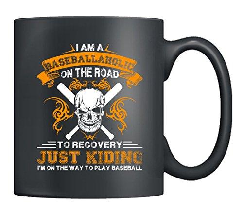 Baseball Coffee Mugs - I Like Baseball Mugs Coffee Tea Cup Black 11Oz Best Gifts For Friends Black