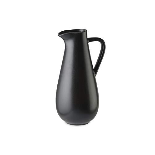 COSTA NOVA Riviera Collection Stoneware Ceramic Pitcher 56 oz Noir