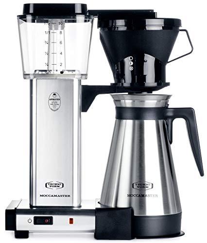 Technivorm Moccamaster 79112 KBT Coffee Maker 40 oz Polished Silver Renewed