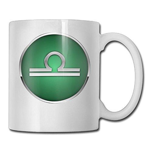 Constellation Libra Coffee Mug Tea Cup Ceramic Large Handle White 11 Oz