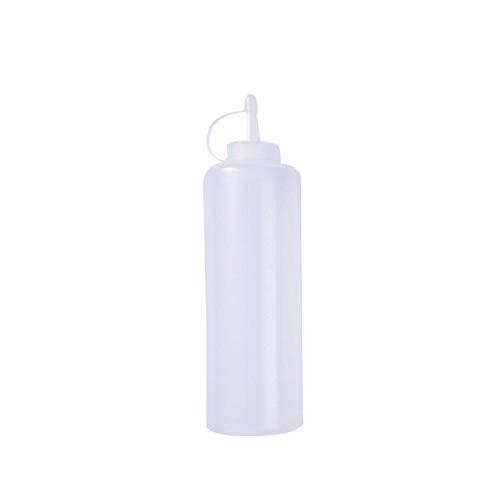 Castor Squeeze Bottle for Home use Plastic Condiment Bottles